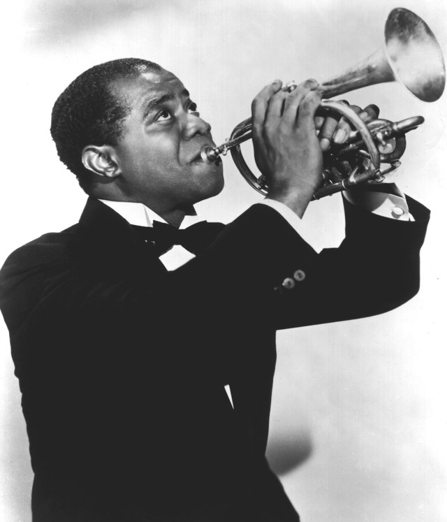 Louis Armstrong When the Saints Go Amrching In cover
