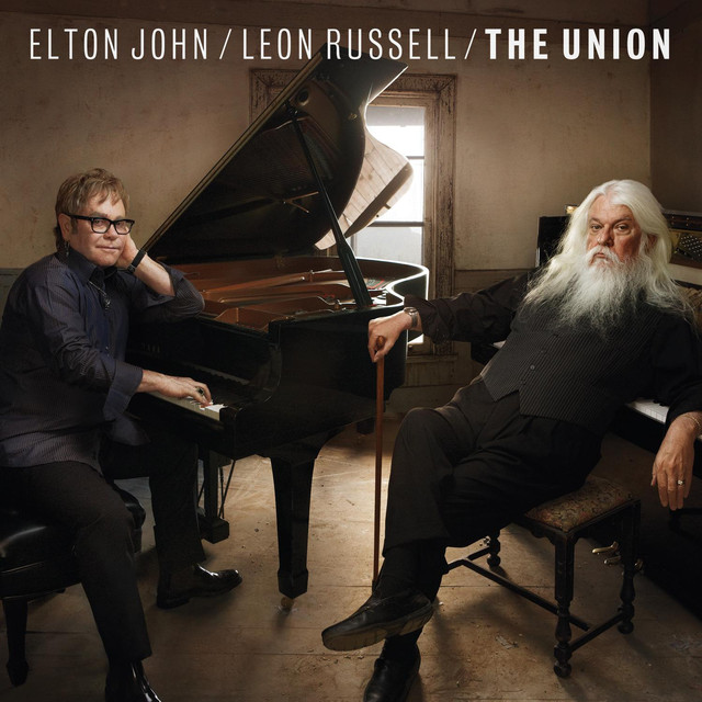 Elton John, Leon Russell The Union (Deluxe) album cover