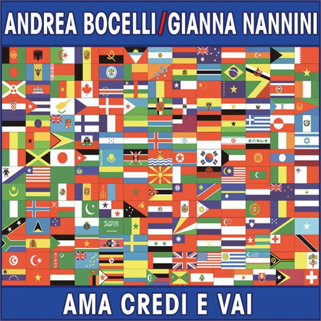 Ama credi e vai (because we believe) - Duet with Gianna Nannini