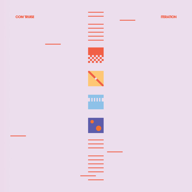 Album cover for Iteration by Com Truise