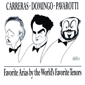 Favorite Arias by the World's Favorite Tenors album
