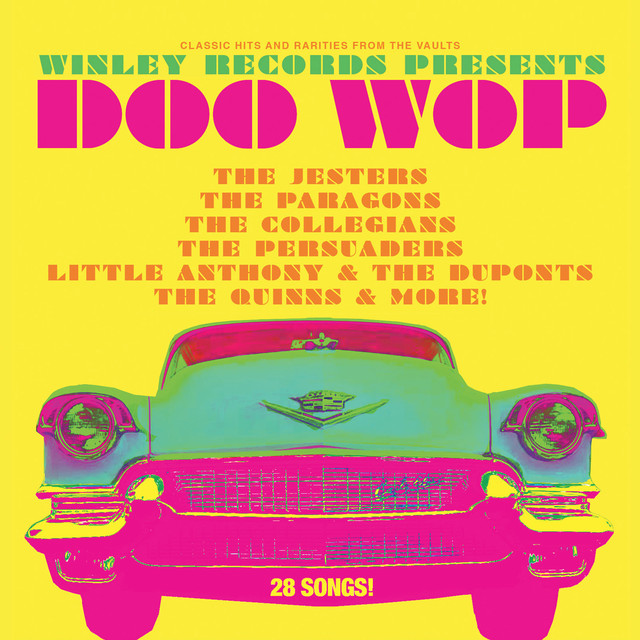 Various Artists Winley Records Presents Doo Wop album cover