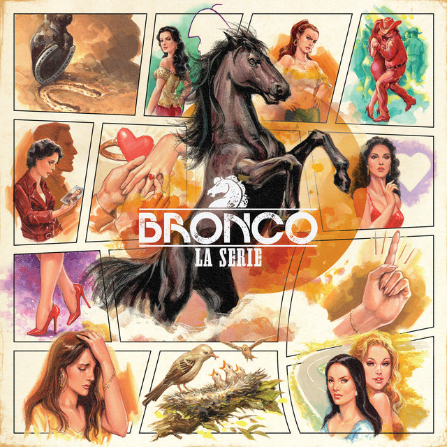 Album cover for Bronco: la Serie by Bronco