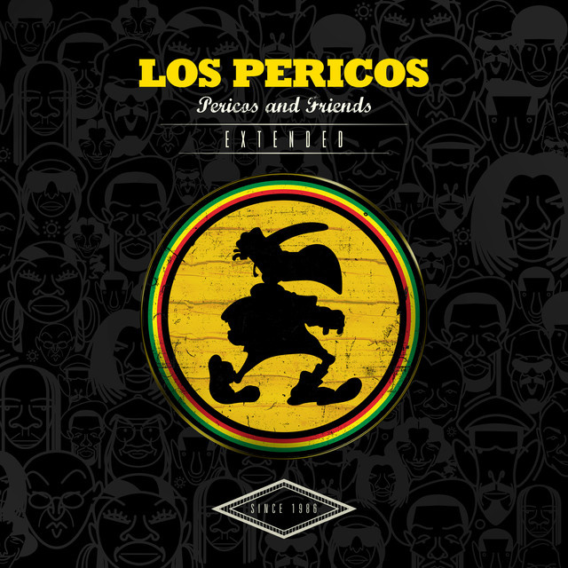 Album cover for Pericos & Friends (Extended) by Los Pericos