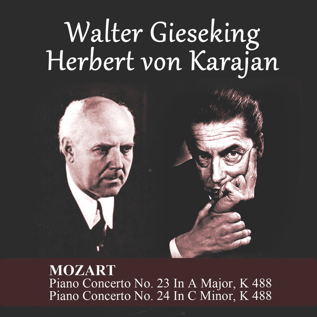 Mozart: Piano Concerto No. 23 In A Major, K 488 - Piano Concerto No. 24 In C Minor, K 488 Albumcover
