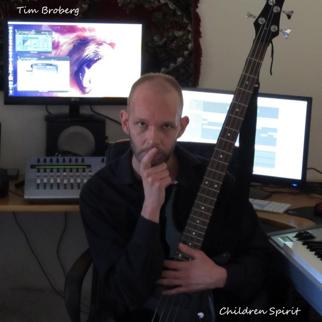 Album cover for Children Spirit by Tim Broberg