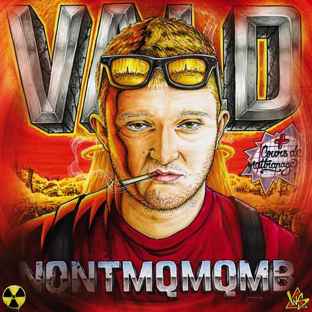 Album cover for NQNTMQMQMB by Vald