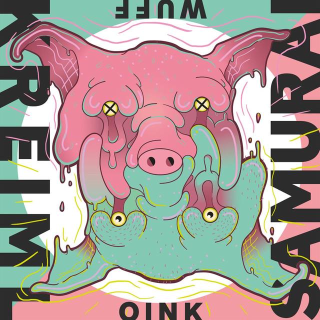 Album cover for Wuff Oink by Kreiml & Samurai