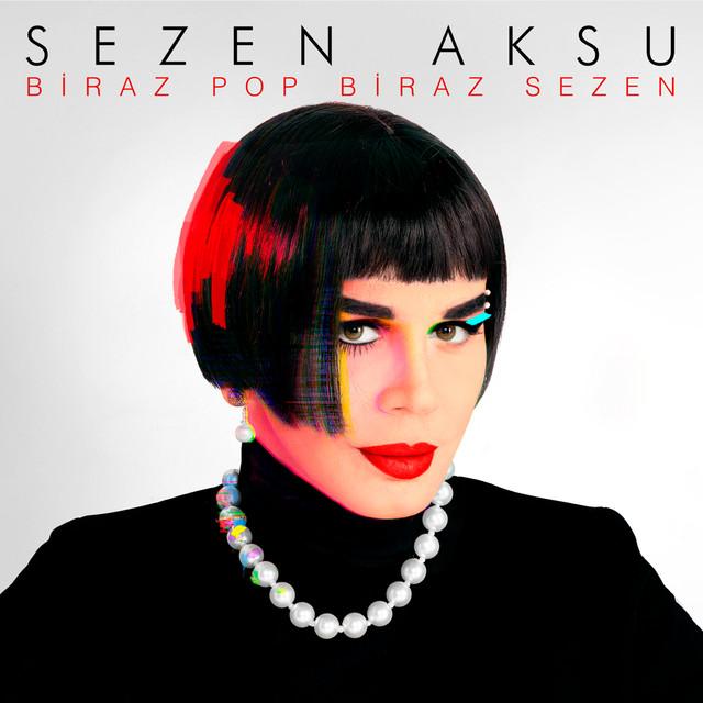 Album cover for Biraz Pop Biraz Sezen by Sezen Aksu