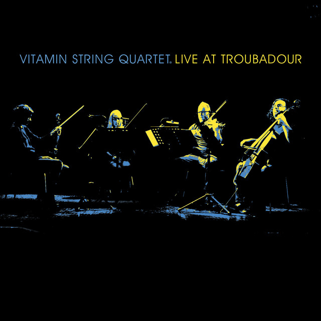 VSQ Live at the Troubadour Albumcover