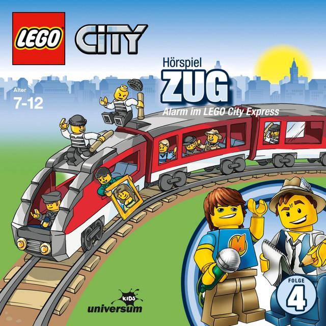 Folge 4: Lego City - Zug - Alarm im LEGO City Express Cover