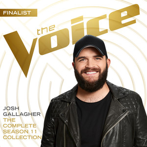 Josh Gallagher, Adam Levine Smooth - The Voice Performance cover