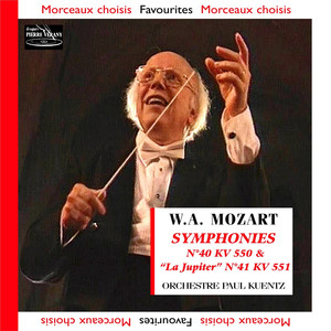 Mozart - Symphonies N°40 KV 550 et N°41 KV 551 Albümü