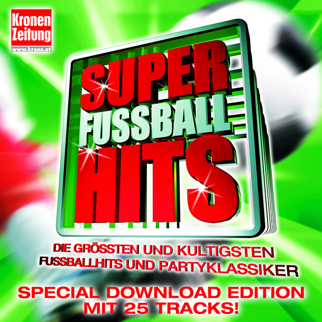 Various Artists Super Fußballhits album cover