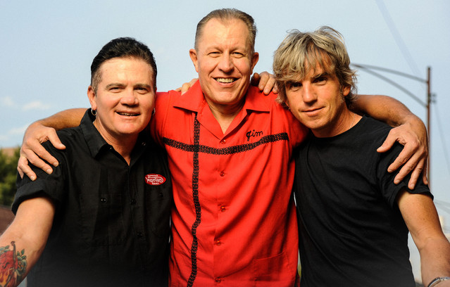 Reverend Horton Heat Get Rhythm cover