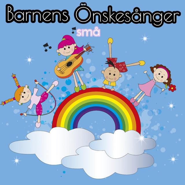 Album cover for Barnens små önskesånger by Barnsånger och Barnvisor som Rockar