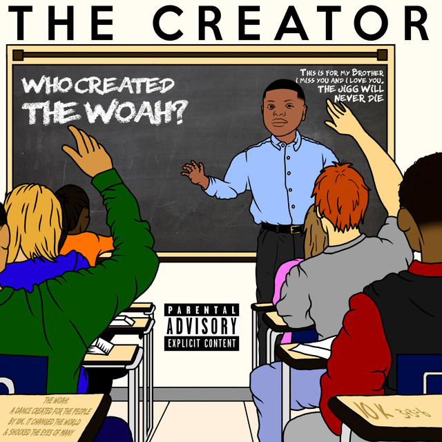 Album cover for The Creator by 10k.Caash