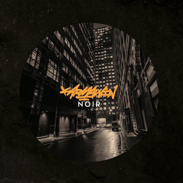 Album cover for Noir by Karmawin