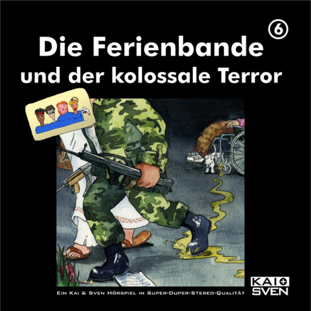 Folge 6: Die Ferienbande und der kolossale Terror Cover
