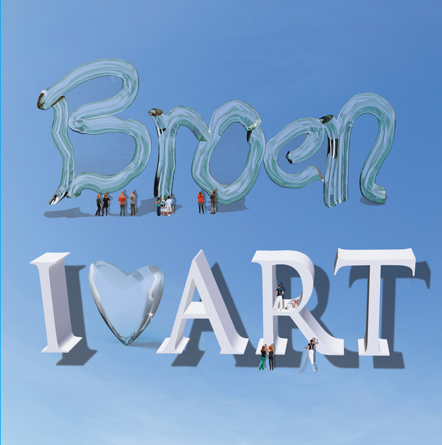 Album cover for I <3 Art by Broen