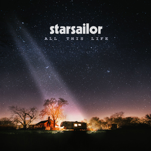 Album cover for All This Life by Starsailor