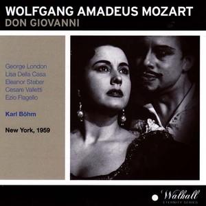 Wolfgang Amadeus Mozart : Don Giovanni Albumcover
