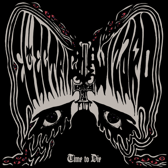Skivomslag för Electric Wizard: Time To Die
