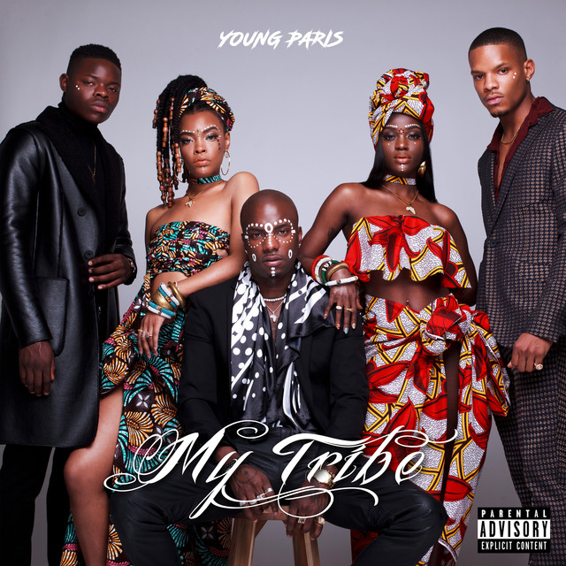 Album cover for My Tribe by Young Paris