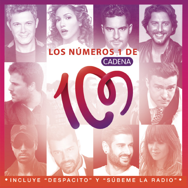 Various Artists Los Nº1 de Cadena 100 (2017) album cover