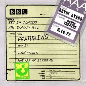 BBC In Concert [Paris Theatre, 6th January 1972] album
