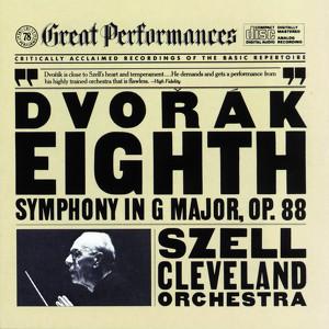 Dvorák: Symphony No. 8 Albumcover