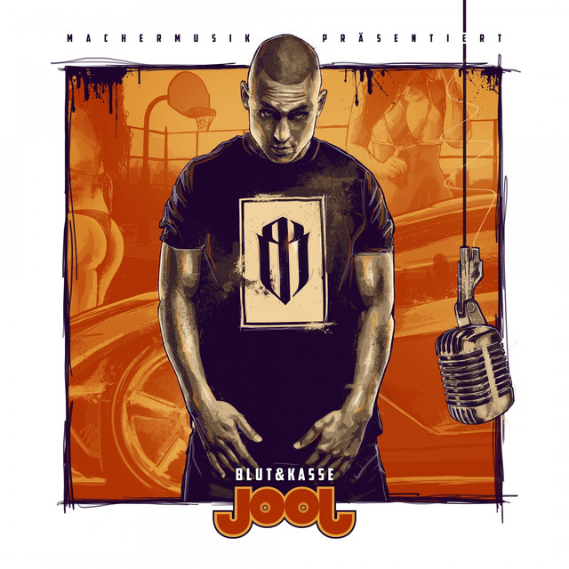 Album cover for JOOJ by Blut & Kasse
