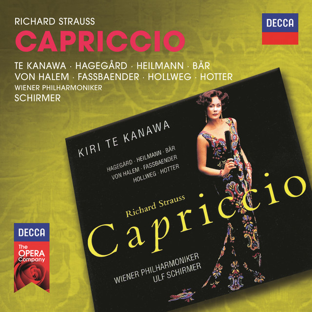 Strauss, R.: Capriccio Albumcover