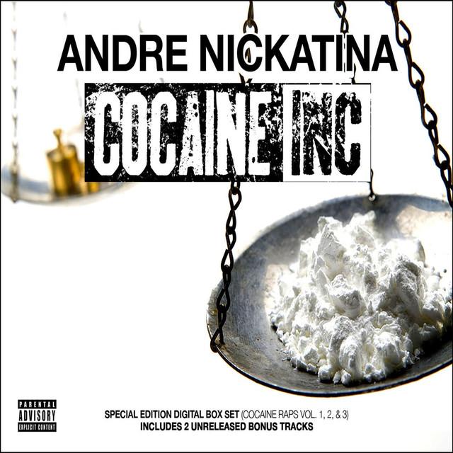 Andre Nickatina Cocaine Inc (Cocaine Raps 1, 2, & 3) album cover
