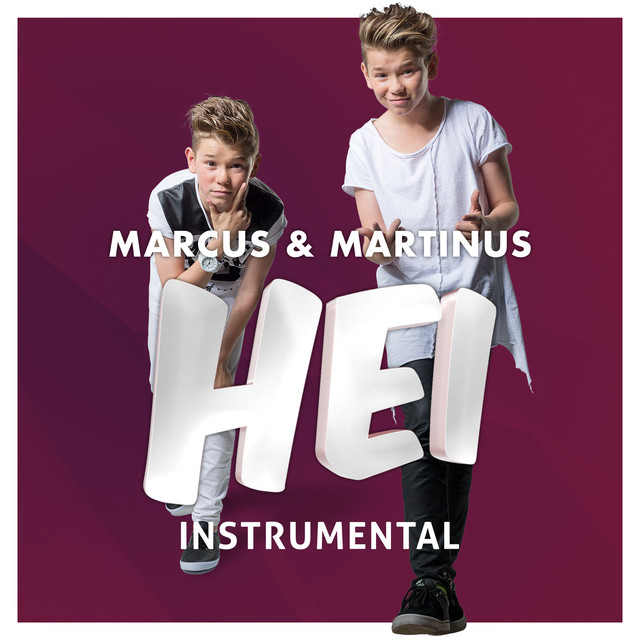 Album cover for Hei by Marcus & Martinus