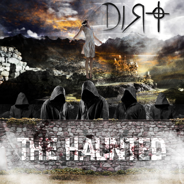 Album cover for The Haunted by Dirt