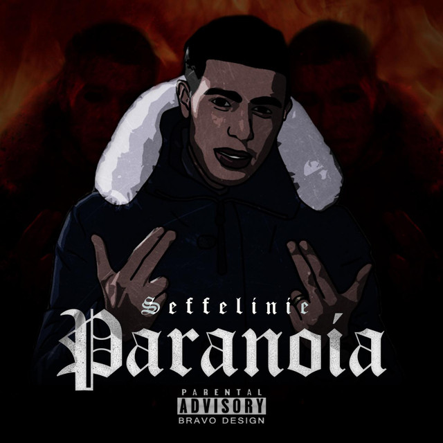 Album cover for Paranoia by Seffelinie