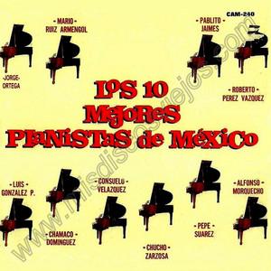Los 10 Mejores Pianistas de Mexico Albumcover