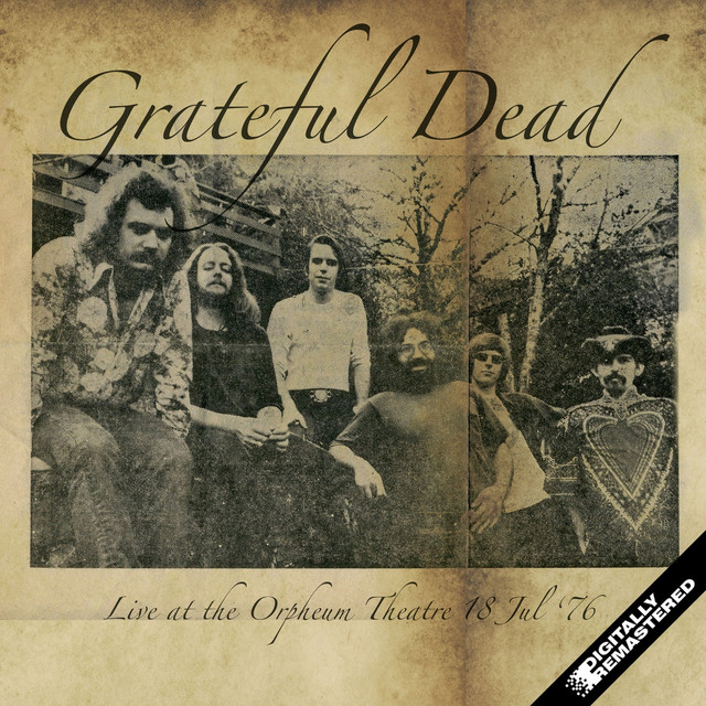 Live at the Orpheum Theatre. 18th July 1976 (Remastered) [Live FM Radio Broadcast Concert In Superb Fidelity] Albumcover