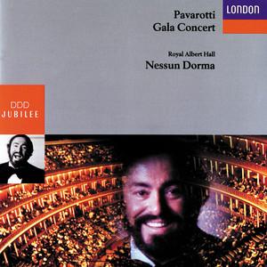 Luciano Pavarotti - Gala Concert, Royal Albert Hall Albumcover