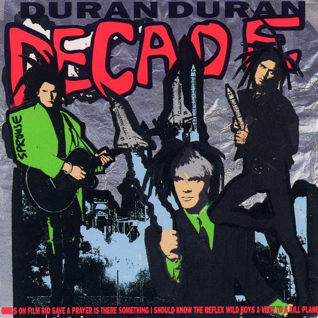 Duran Duran Decade album cover