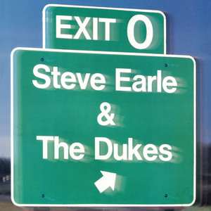 Steve Earle & The Dukes, Steve Earle, The Dukes Angry Young Man cover