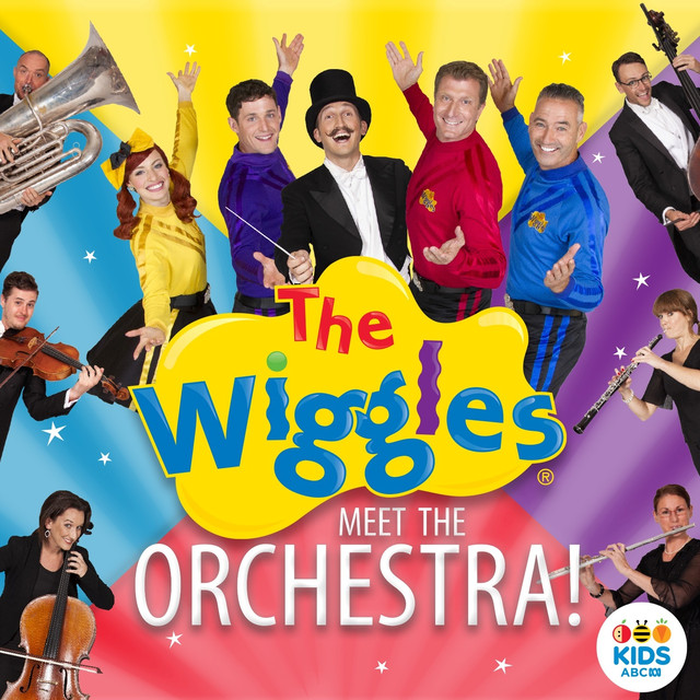 The Wiggles Meet the Orchestra! Albumcover