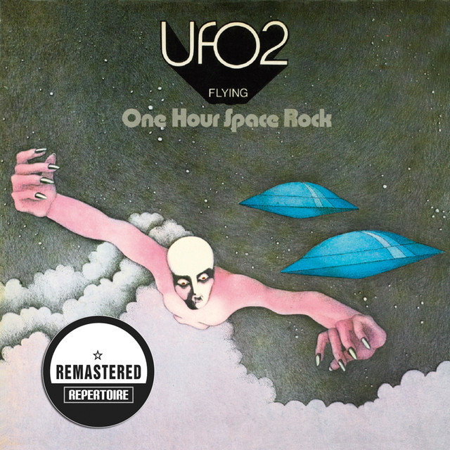 Flying - One Hour Space Rock (Remastered) Albumcover
