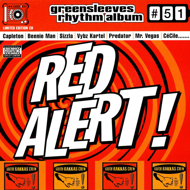 Various Artists Red Alert album cover
