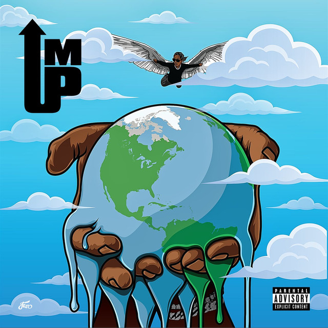 Album cover for I'm Up by Young Thug
