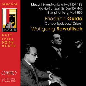 Mozart: Symphony Nos. 25, 14 & 40 (Live) Albümü