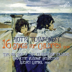 Tchaikovsky: 16 Songs for Childrens, Op. 54 Albümü