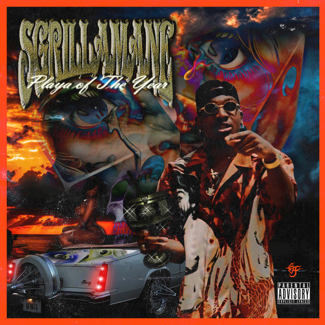 Album cover for Playa Of The Year by Slim Guerilla