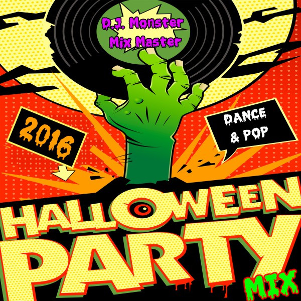 2016 Halloween Party Mix (Dance & Pop)
